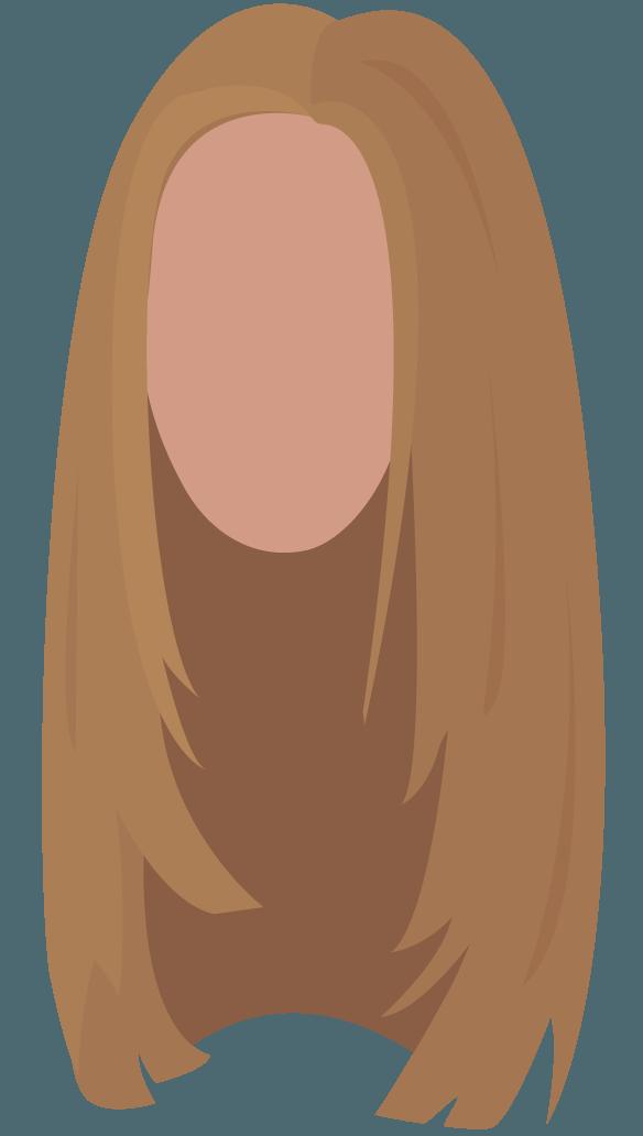 Peinado largo, temporada 6