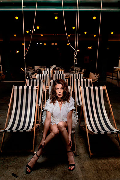 Raquel Sánchez Silva en sala de cine Equis