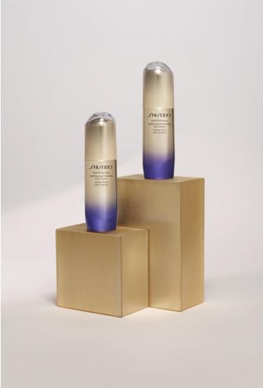 botes de crema de Shiseido