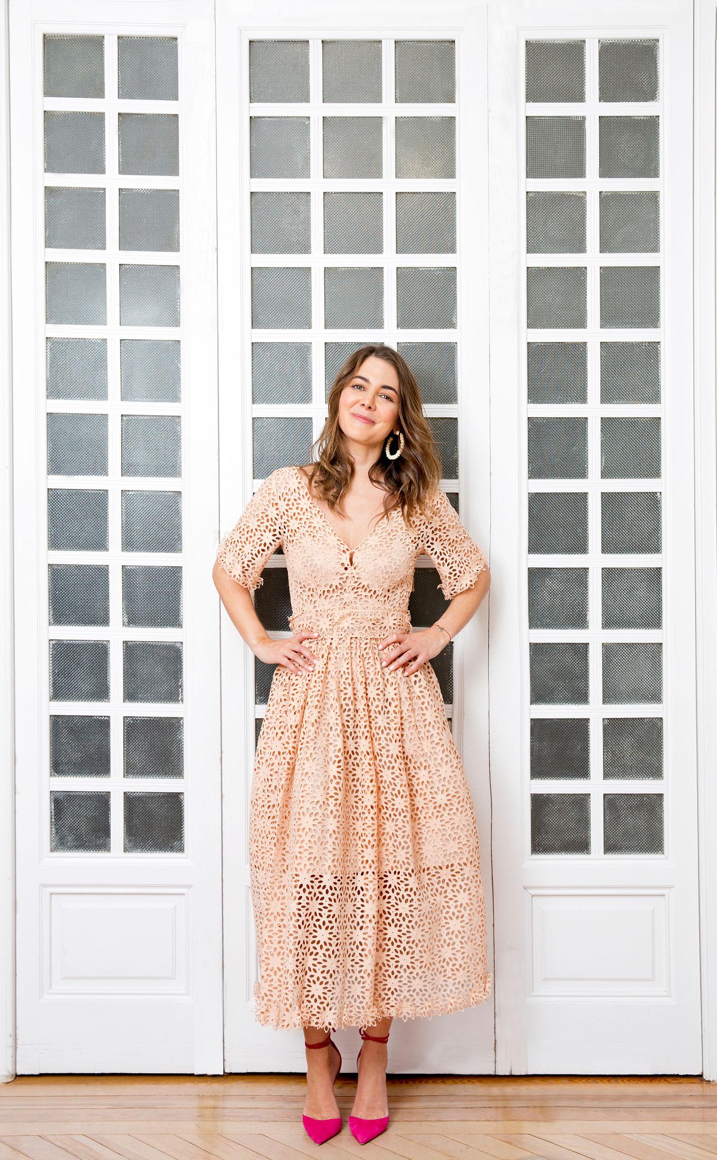 Adriana Castro a sus 35 años ha logrado cumplir su sueño y ser una referencia como diseñadora de bolsos de lujo