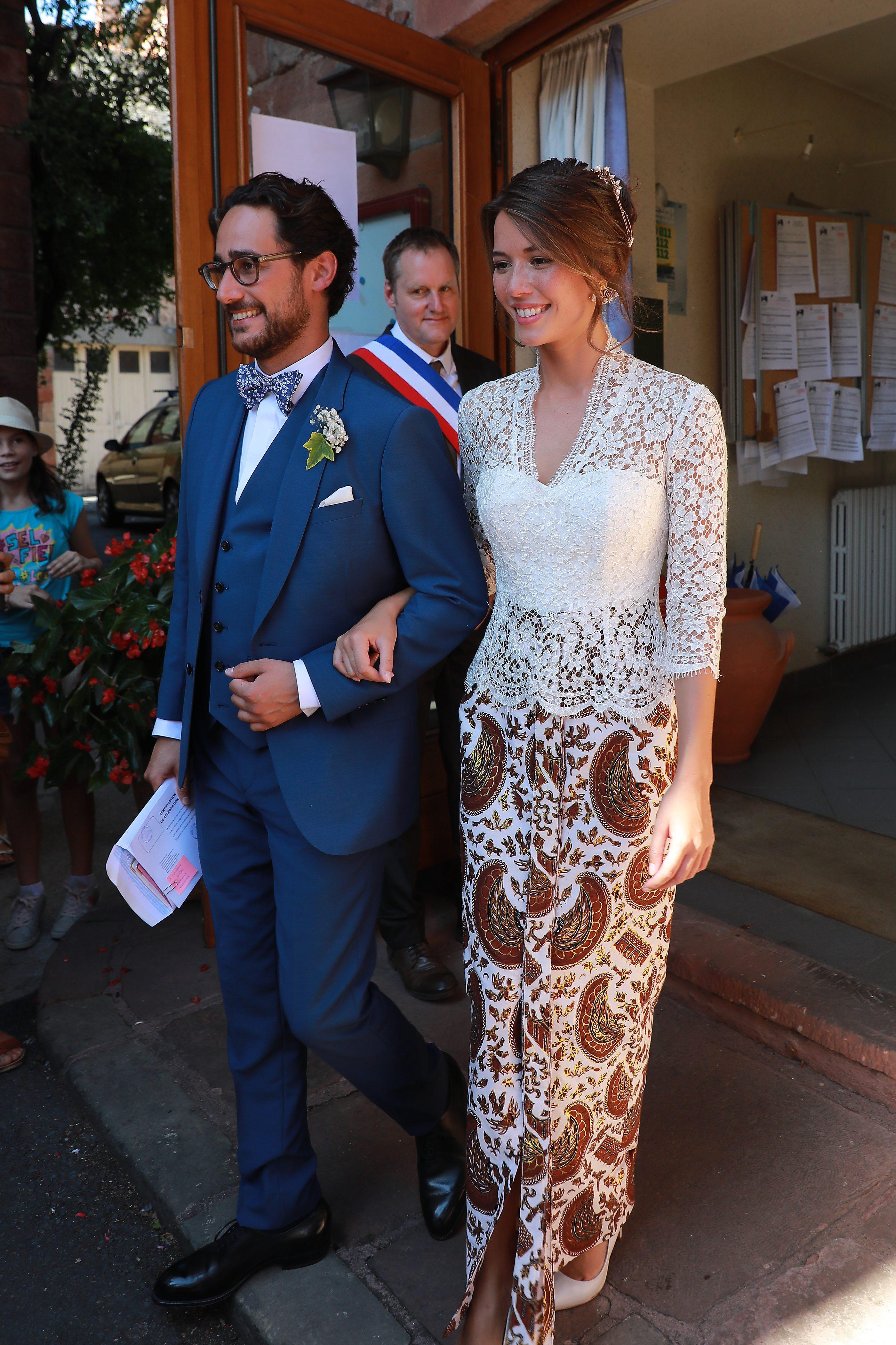 Thomas Hollande y Emilie Broussouloux. (Cordon Press)