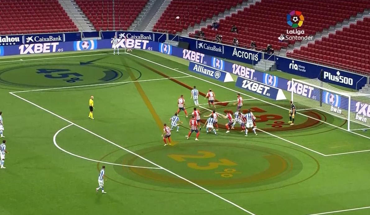 La herramienta Mediacoach ofrece en las retransmisiones de los partidos donde suele tirar los penaltis un jugador concreto