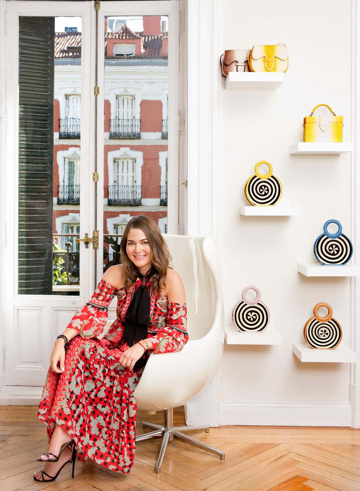 La diseñadora colombiana actualmente se encuentra en España cursando un Máster en el Instituto de Empresa