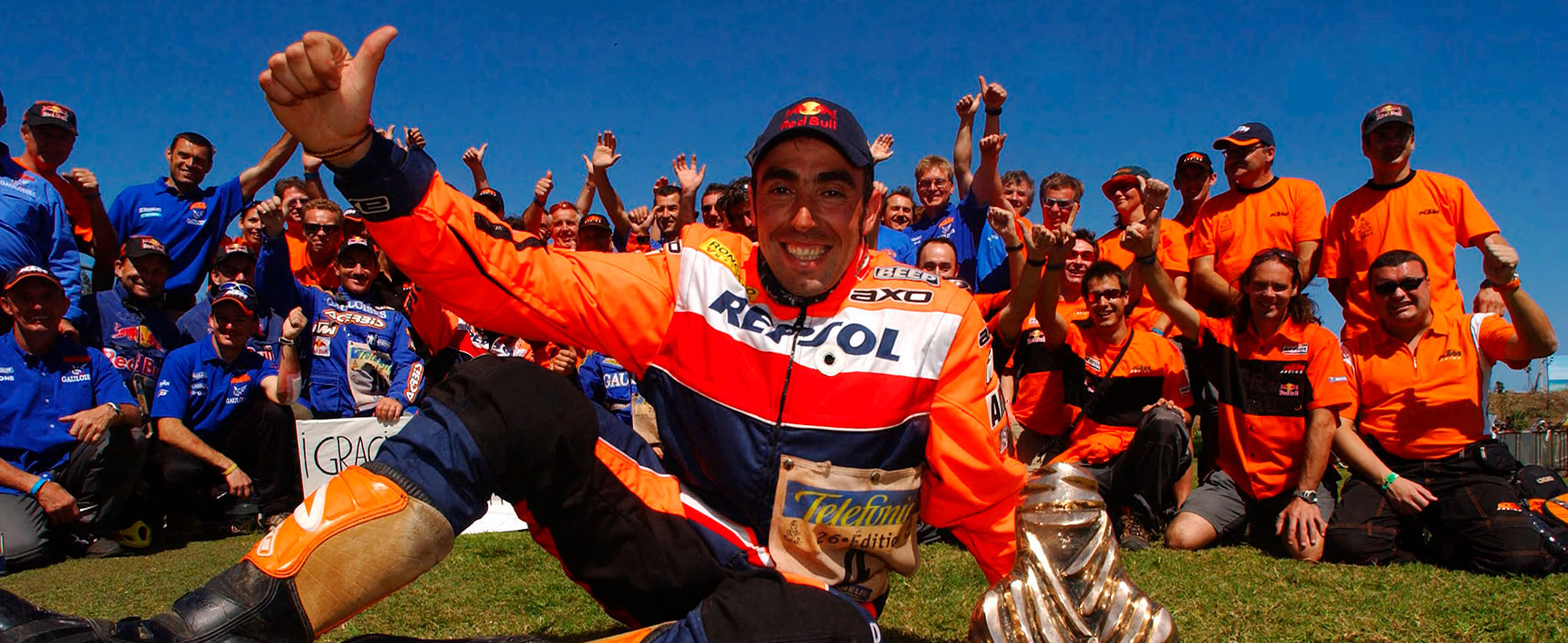 Nani Roma se convirtió ese año en el primer español en ganar el Dakar