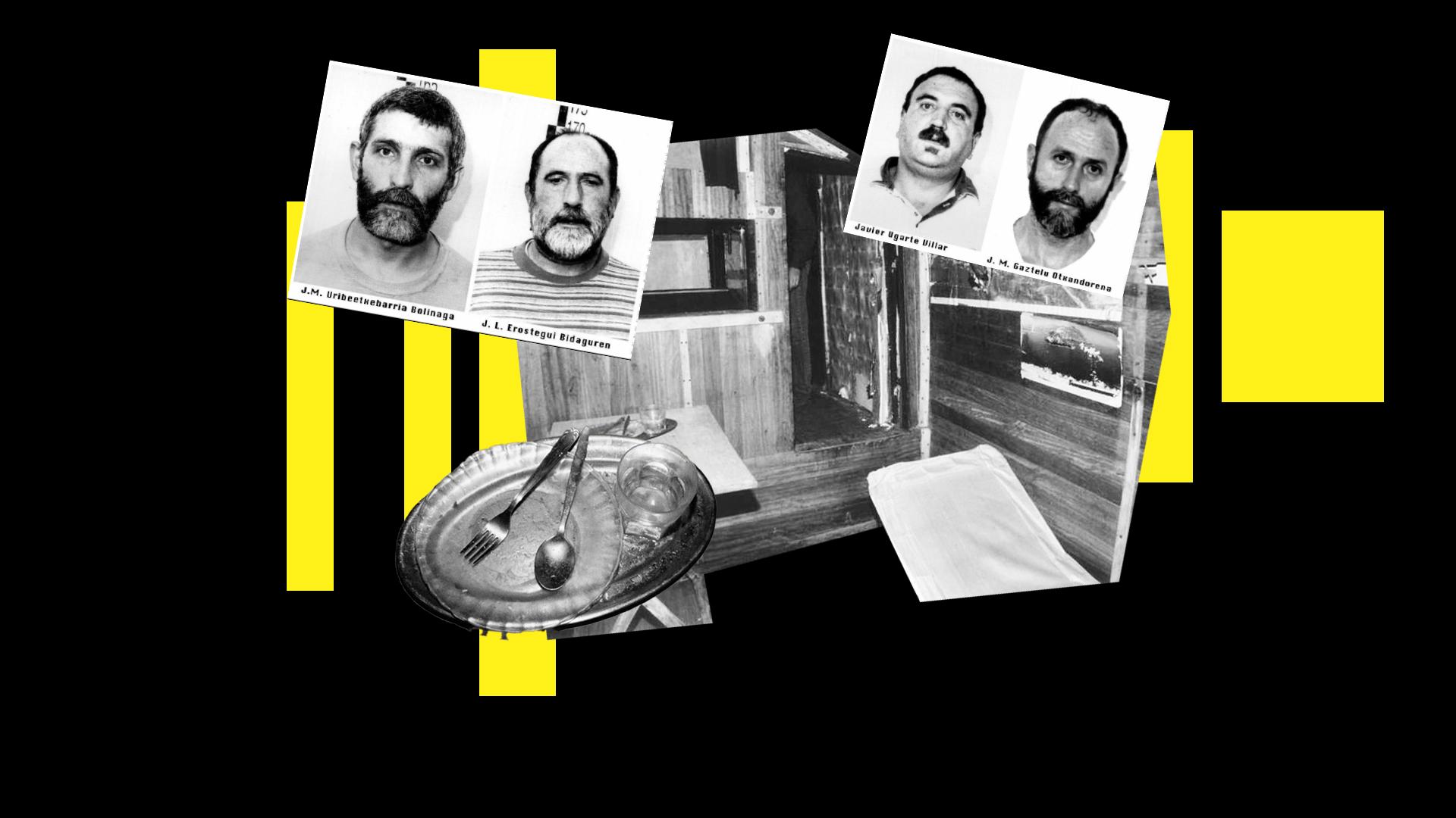 Ilustración del zulo donde Ortega Lara estuvo secuestrado durante 532 días