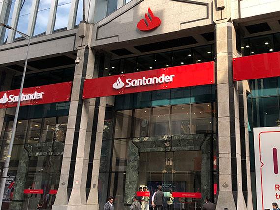 Oficina de Banco Santander