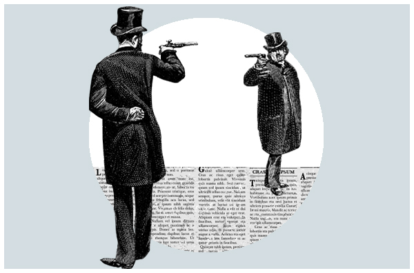 Un duelo a muerte cambió la historia del periodismo