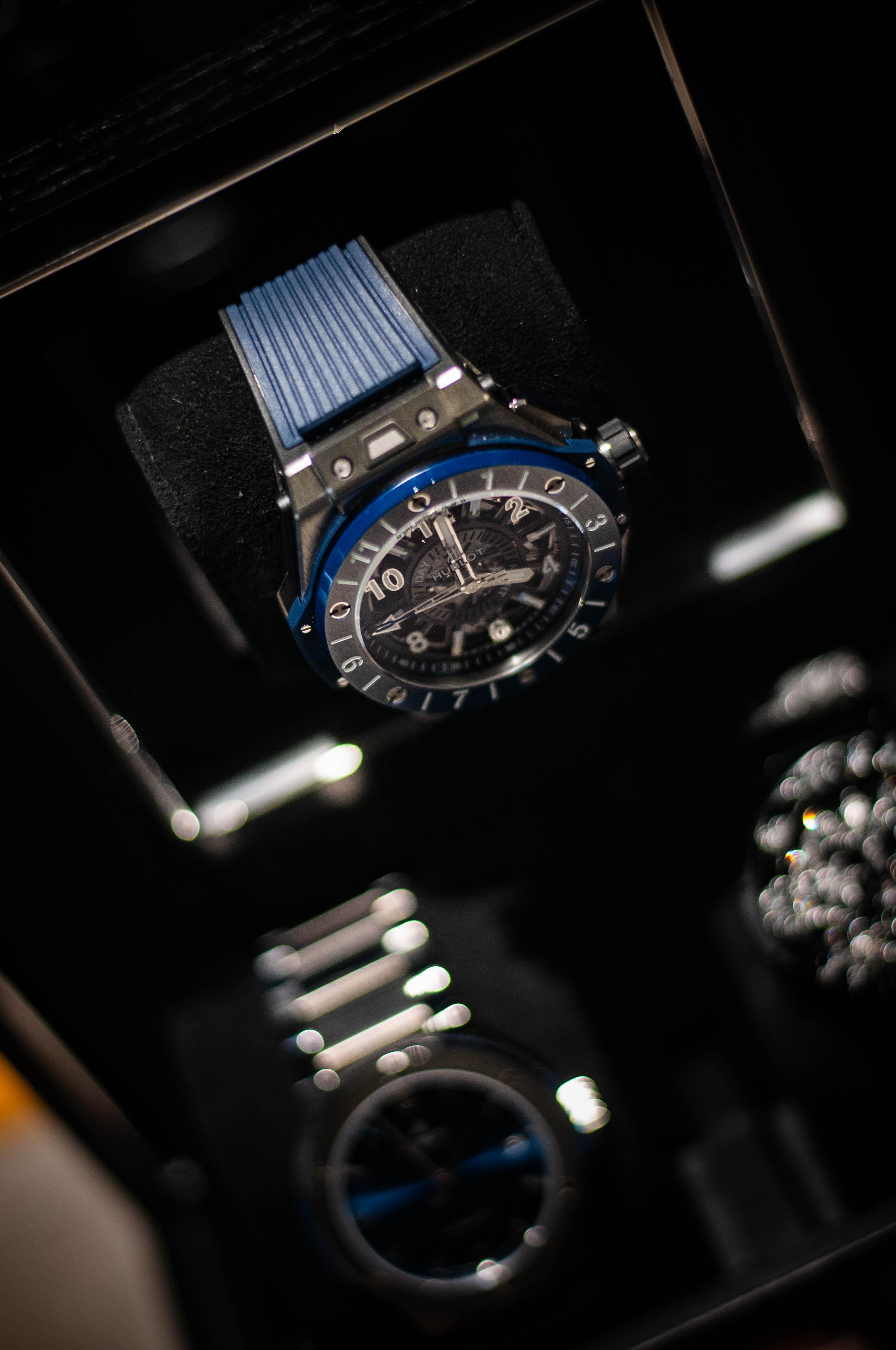 No sólo las joyas son protagonistas en el taller, también lo son los relojes