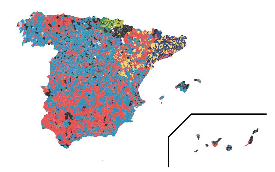 Elecciones Municipales y Autonmicas 2015 Resultados electorales