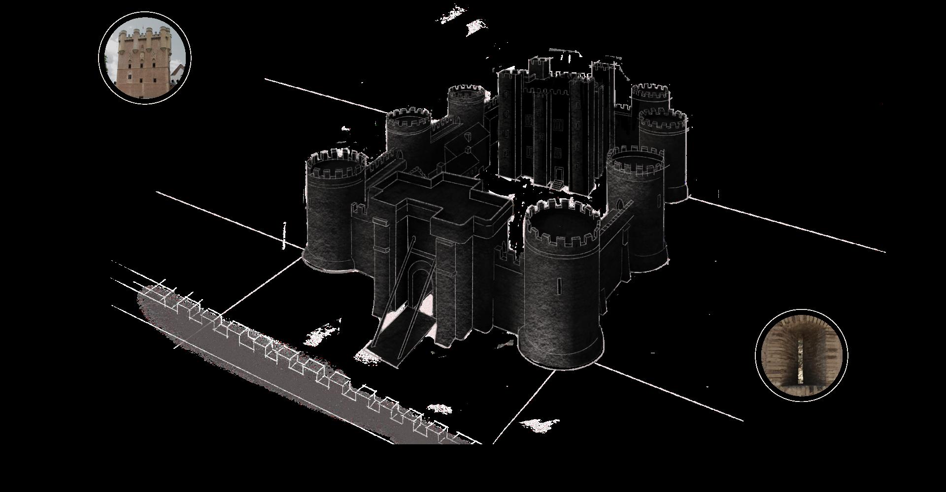 Estilo arquitectónico de los castillos