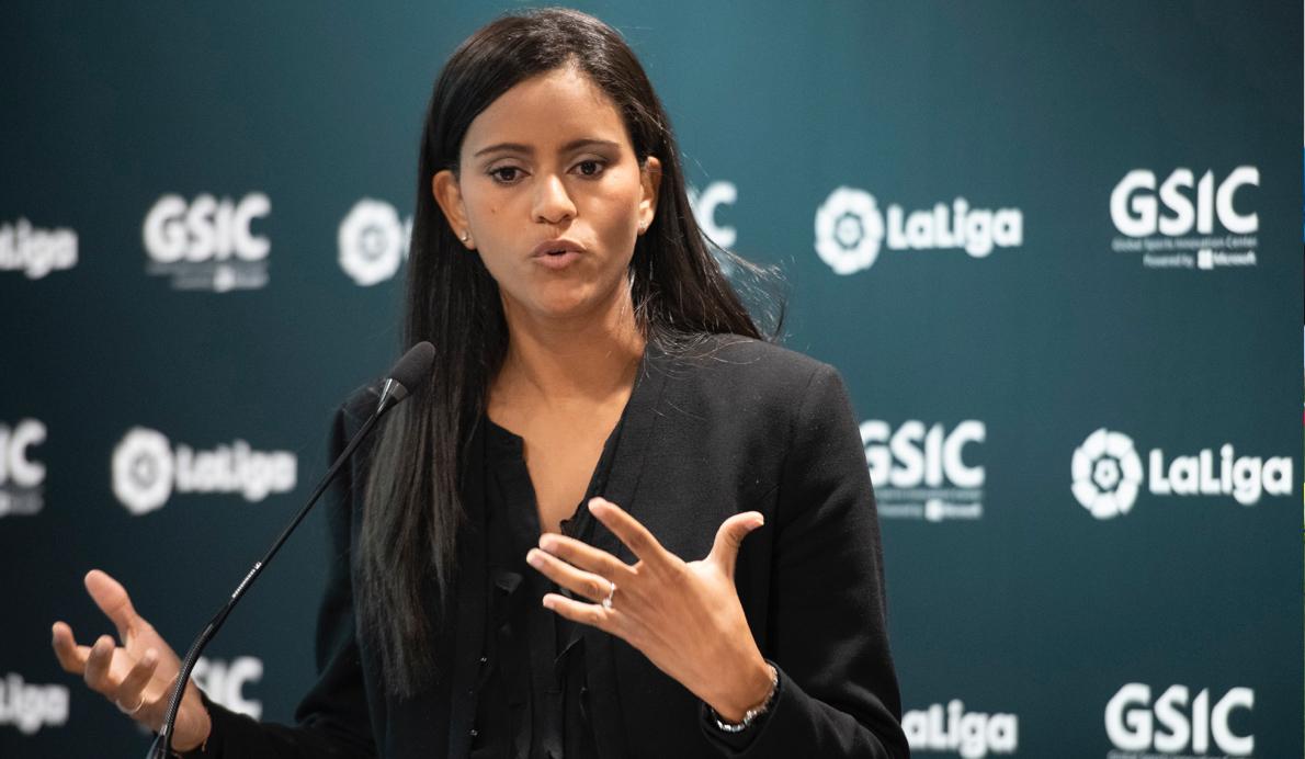 Minerva Santana, directora de Innovación, Estrategia y Transformación Tecnológica de LaLiga