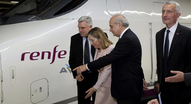 Viaje inaugural del servicio internacional de AVE entre España y Francia. (EFE)