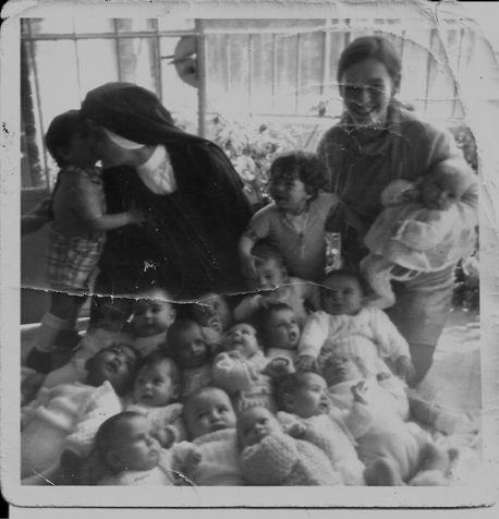 Foto antigua niños