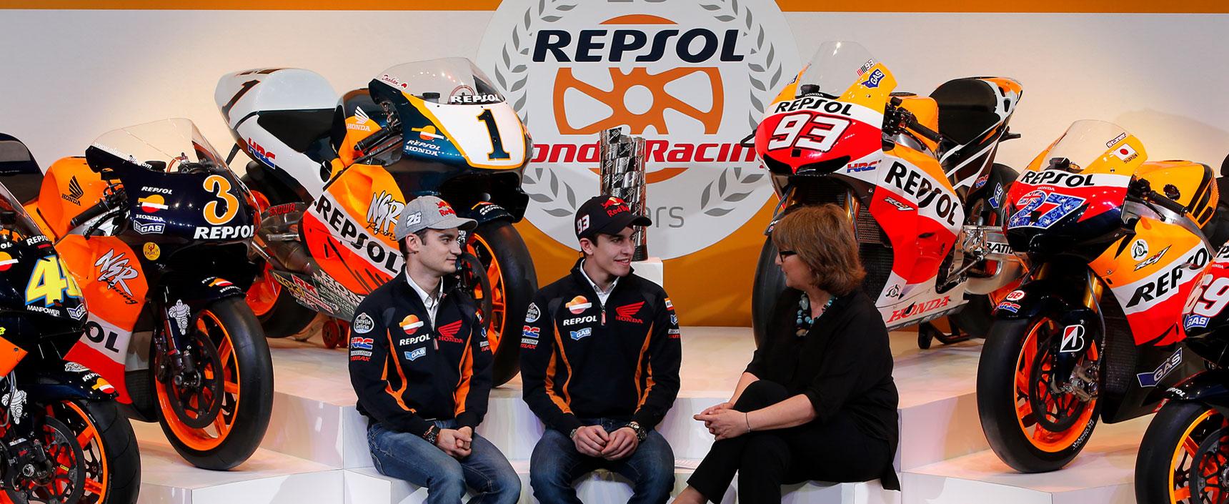 Repsol Honda Team cumple 20 años con un palmáres de 10 títulos mundiales y 124 victorias en carrera