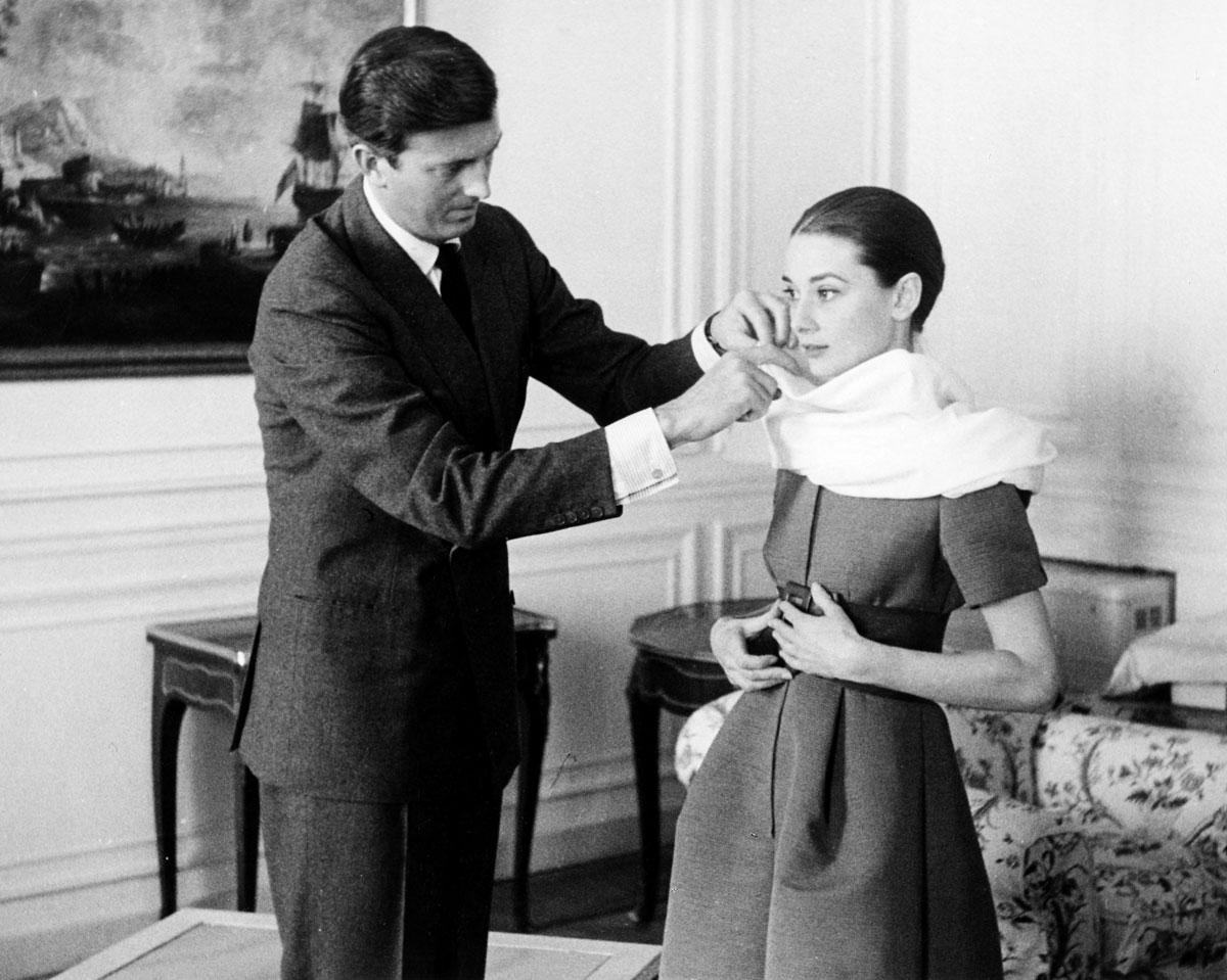 Audrey y Givenchy