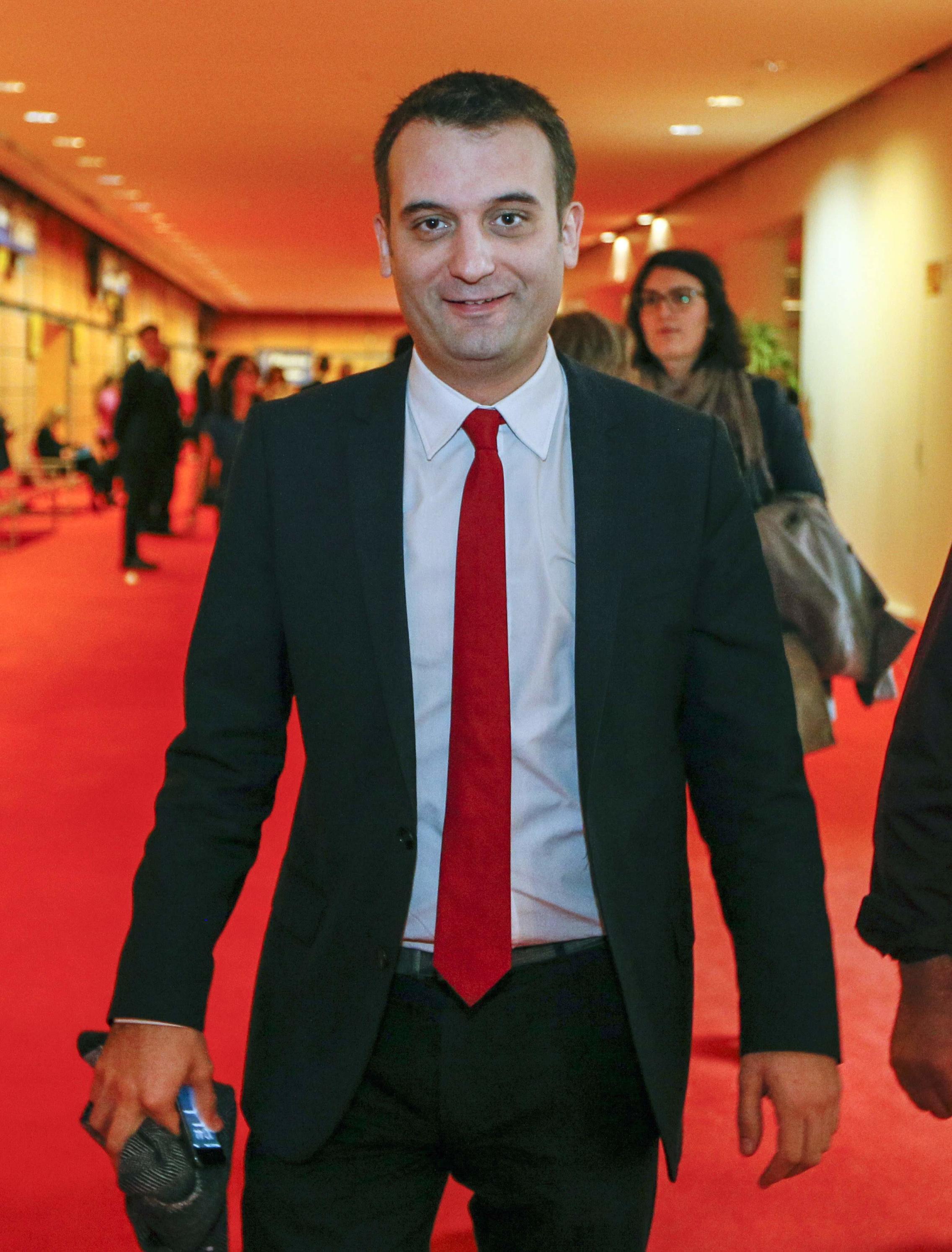 El vicepresidente del Frente Nacional, Florian Philippot (Reuters)