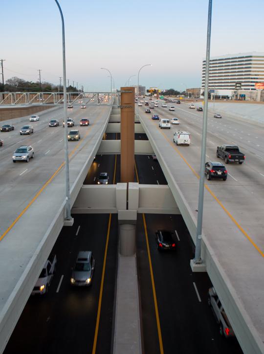Conjunto de autopistas norteamericanas