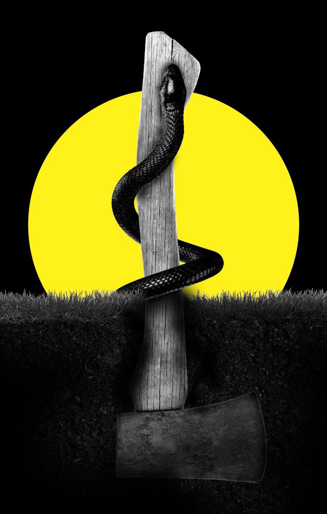 Ilustración sobre la serie 'El desafío: ETA'