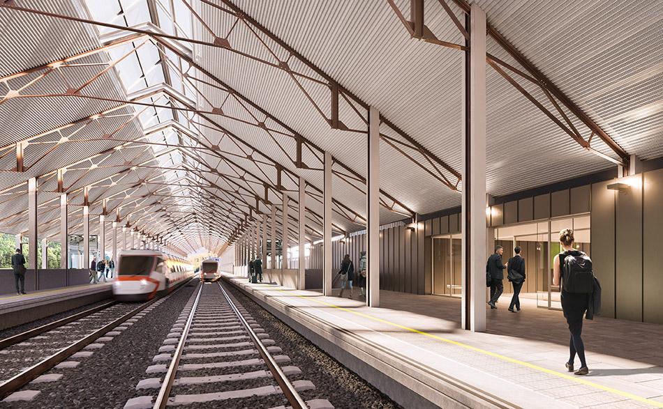 Nueva estación de Canfranc
