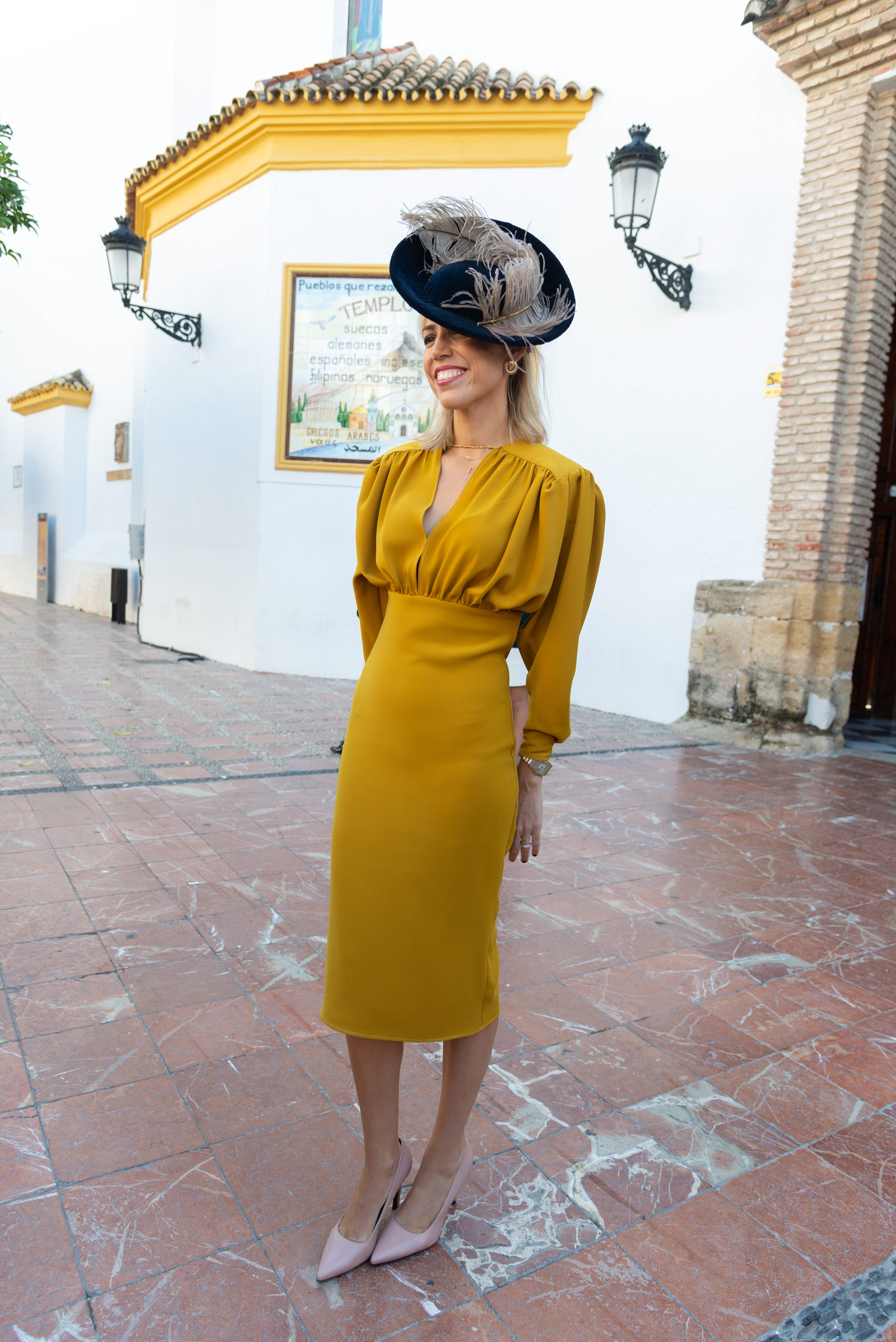 Con el famoso vestido de Lola Li. (Cordon Press)
