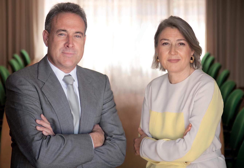 Carmen y Luis Riu