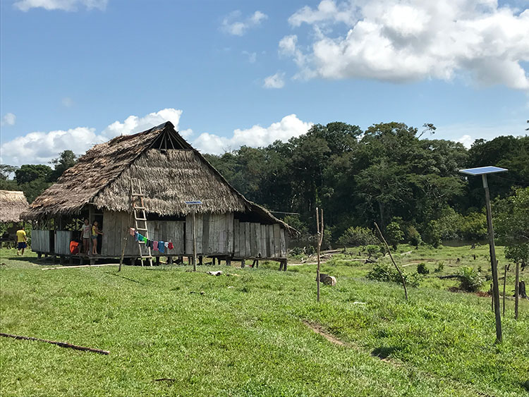 Población en el Amazonas