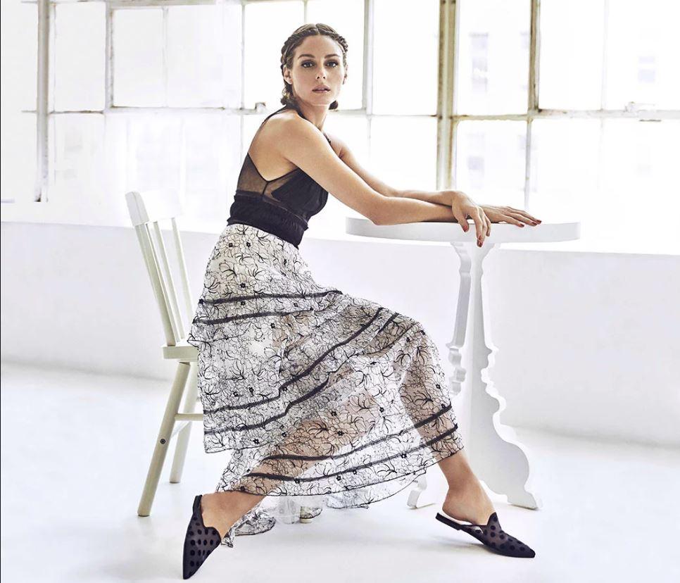 Olivia Palermo para Pretty Ballerinas. (Cortesía de la marca)