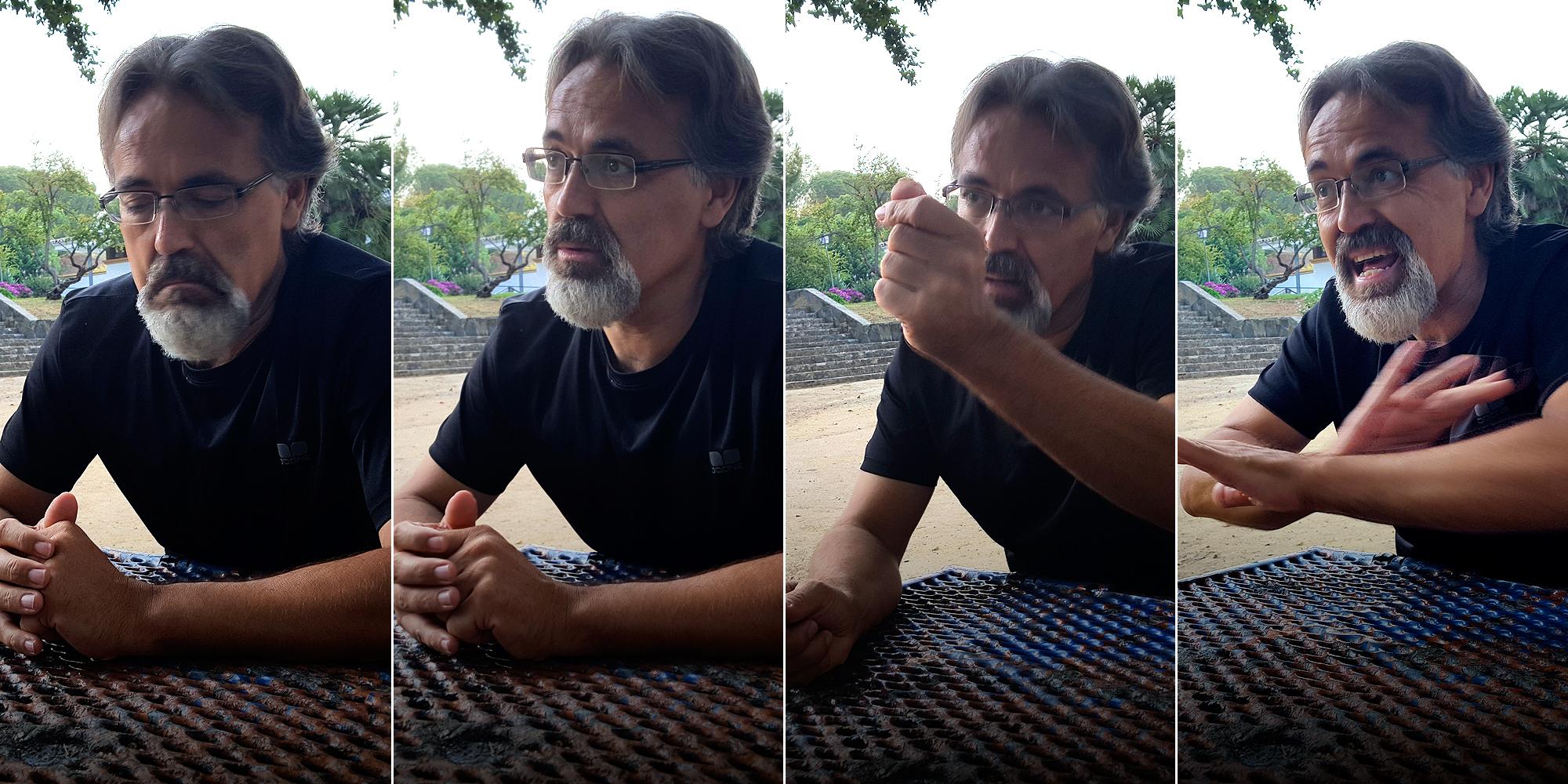 Javier de Luis, de Ecologistas en Acción. (A. P.)