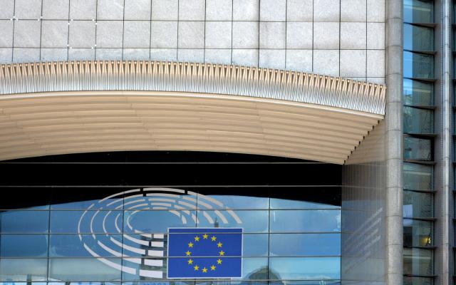Imagen de un edificio de la Unión Europea