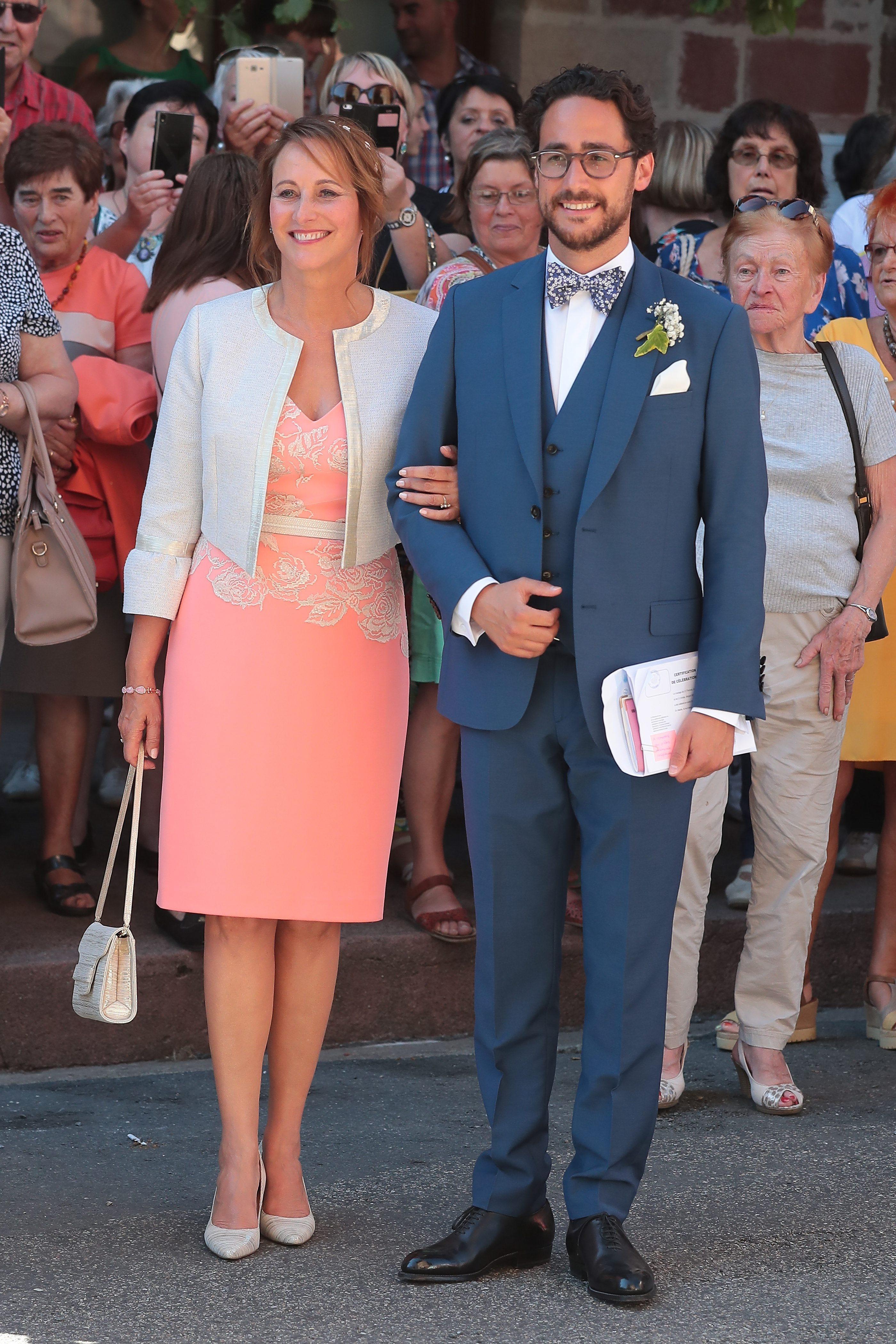 Segolène Royal en la boda de su hijo. (Cordon Press)