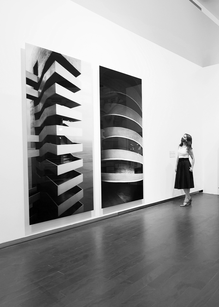 Andrea Levy en el museo