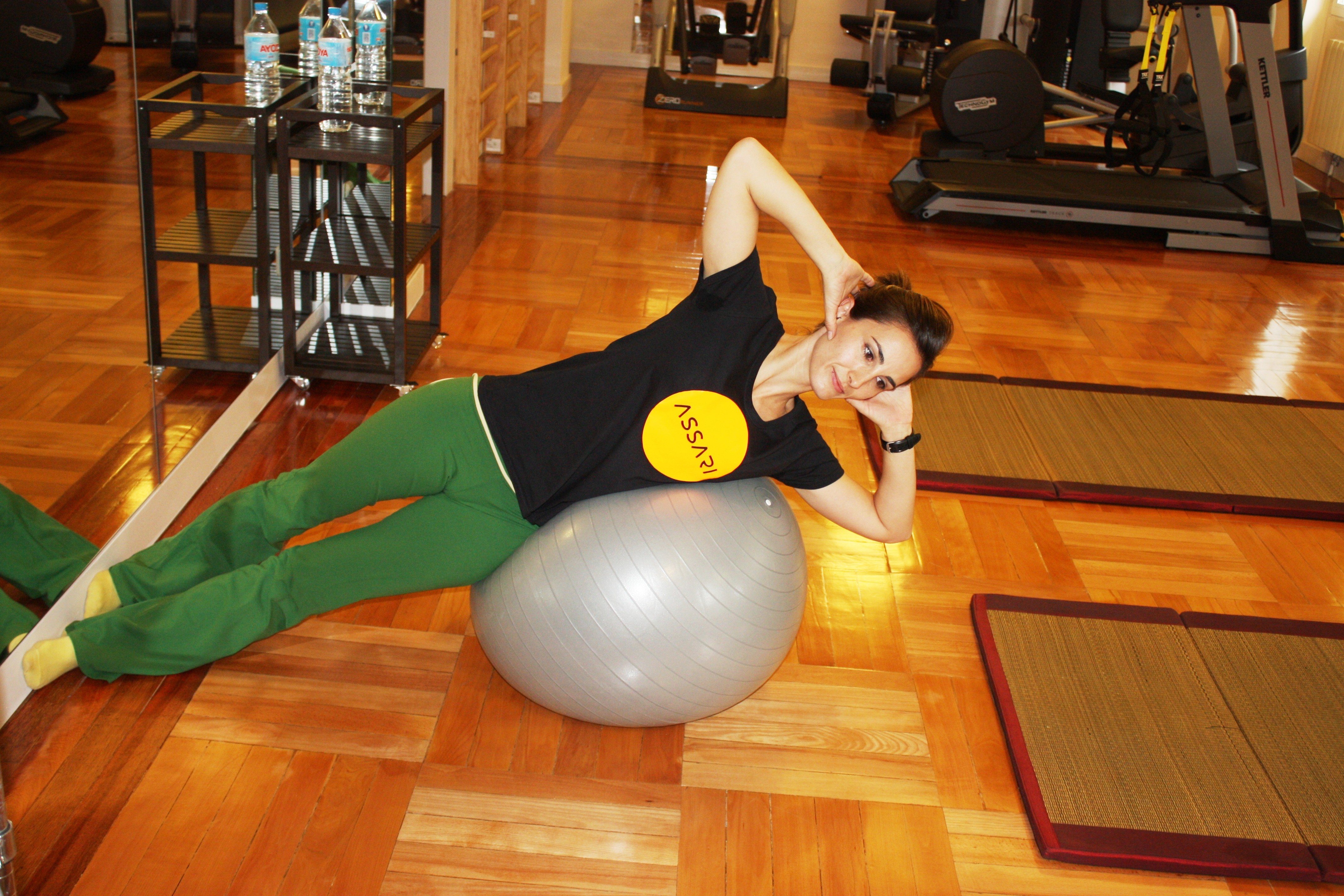 Como usar las pelotas de yoga | tu tienda online de yoga