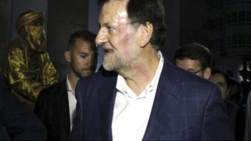 Rivera pide reventar las urnas Mariano Rajoy defiende a sus escoltas y no denunciará a su agresor: Está olvidado