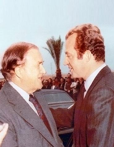 El Rey Juan Carlos inaugura la fábrica