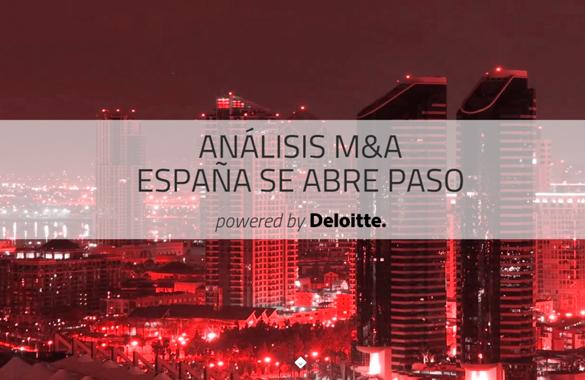 Análisis M&A. España se abre paso