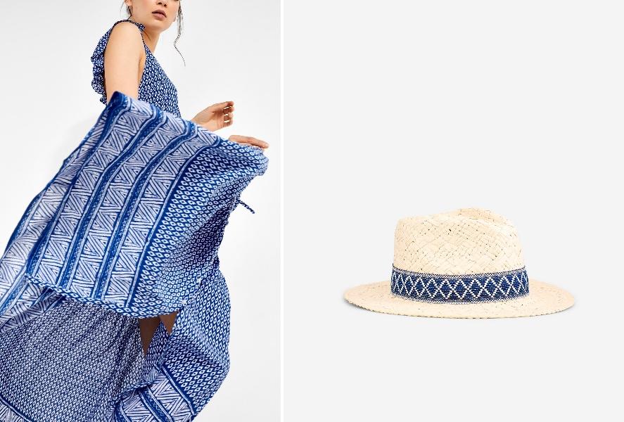 Vestido y sombrero de Women'secret. (Cortesía de la marca)