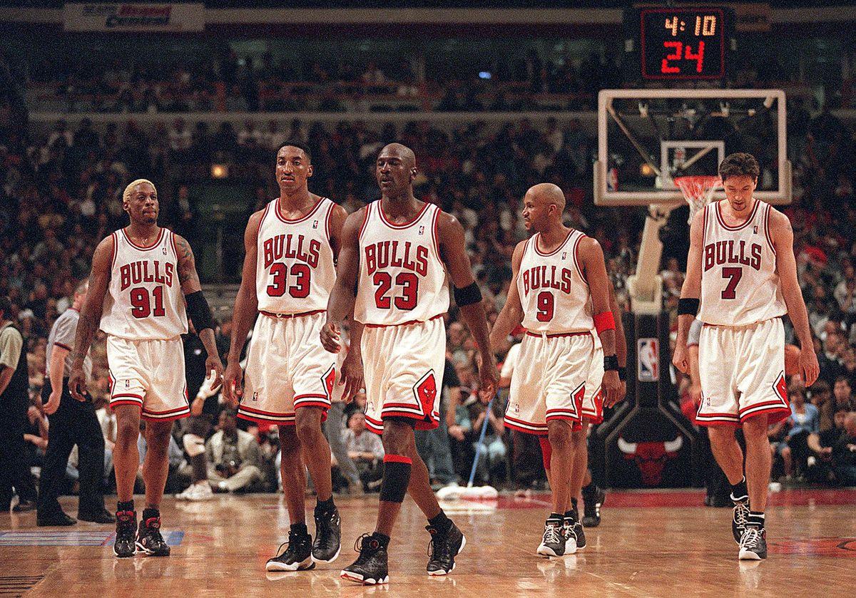 Los imbatibles Bulls del 98. (NBA)
