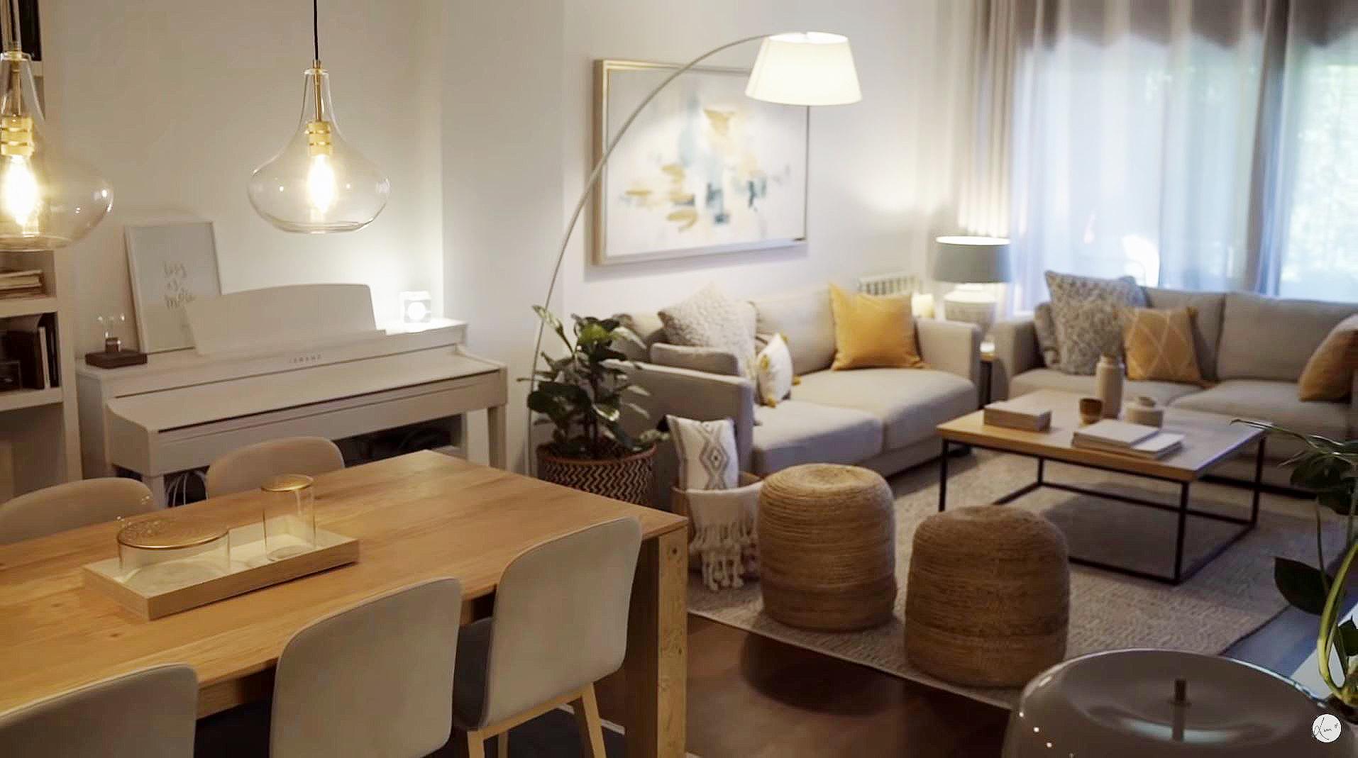 El salón, el comedor… Decora tu casa como la de Risto Mejide y Laura ...