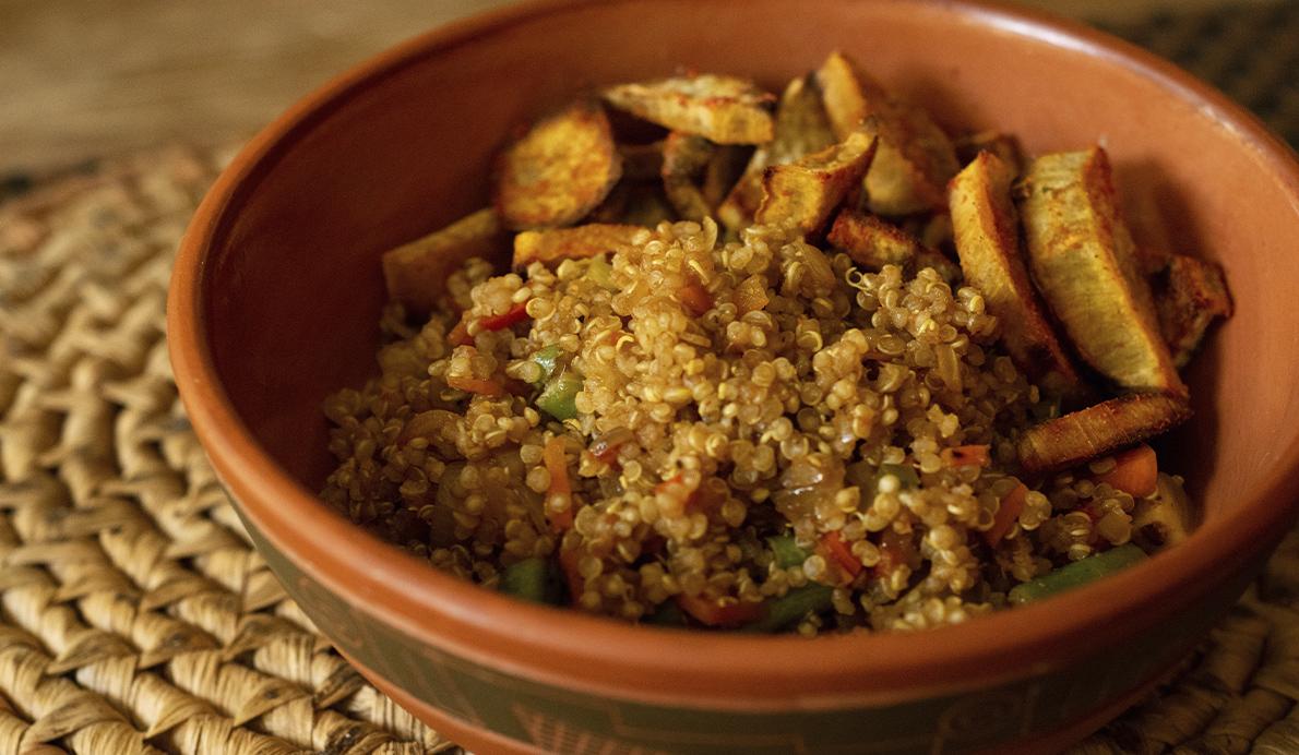 La quinoa ha empezado a formar parte de los menús de los jugadores