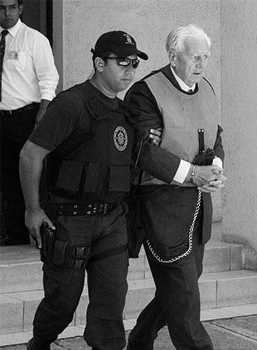 La policía chilena detiene a Kurt Schnellemkamp