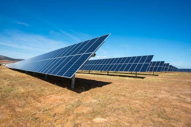 Imagen del parque solar