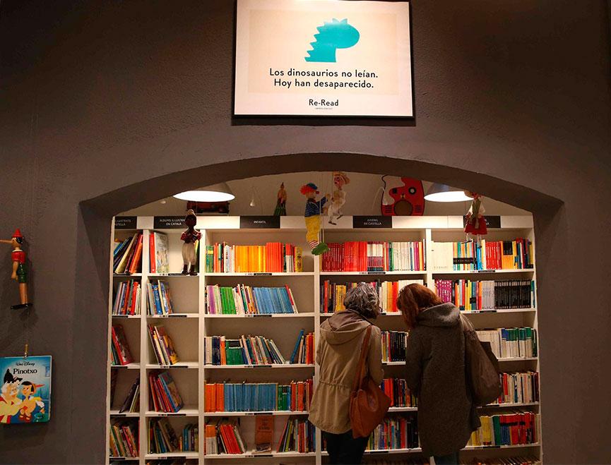La franquicia Re-Read, que tras abrir su primer local en 2013, ha inaugurado en Barcelona la número 33