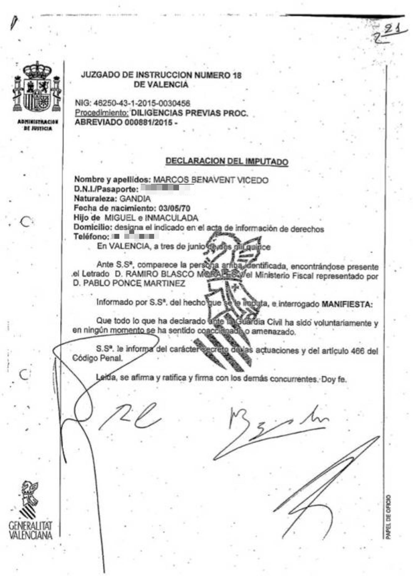 Noticias de Comunidad Valenciana: Así se gestó la traición del yonki ...