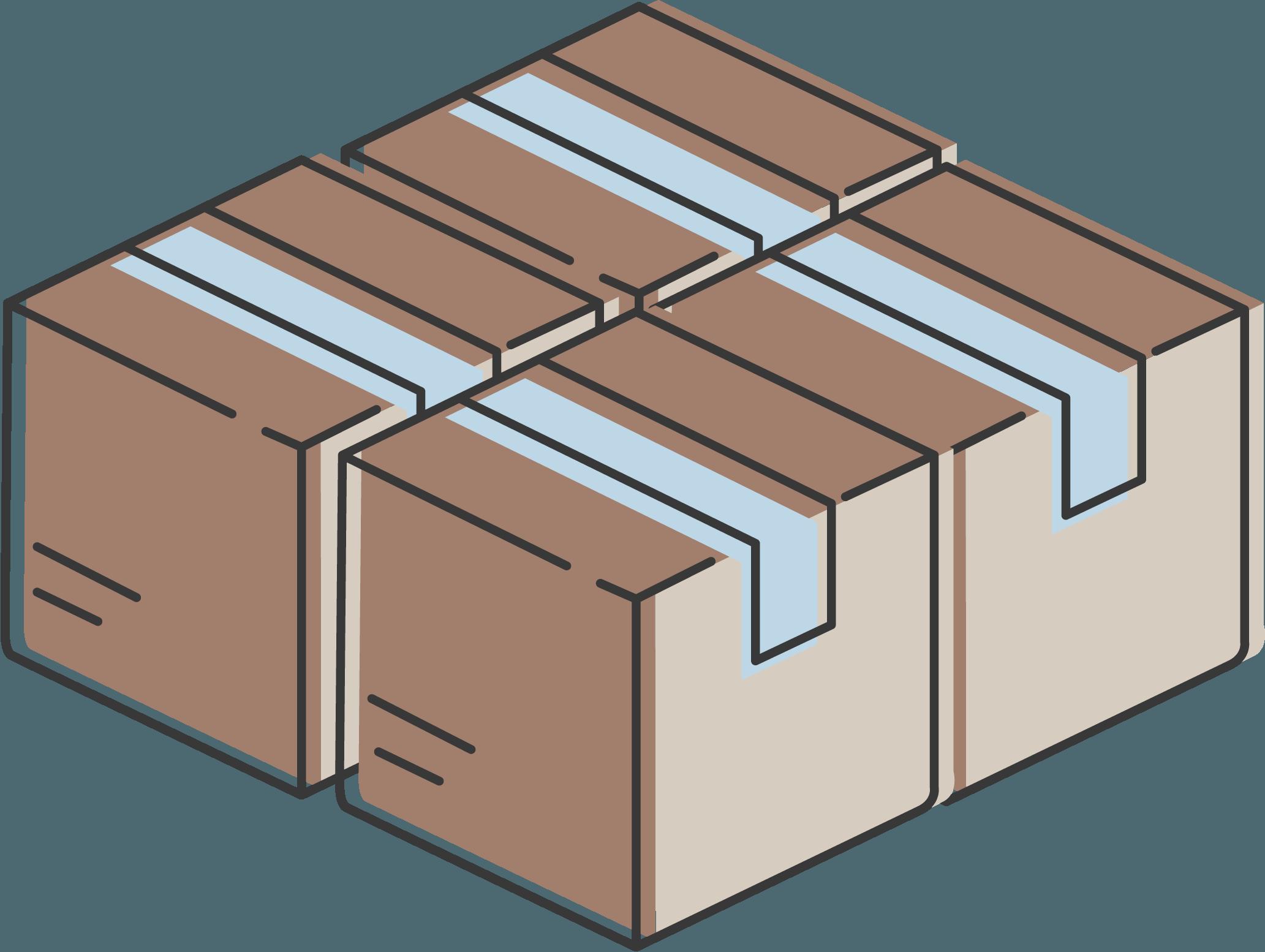 paquetes de mensajería