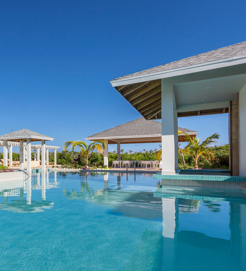 Piscina en el resort Paradisus Los Cayos