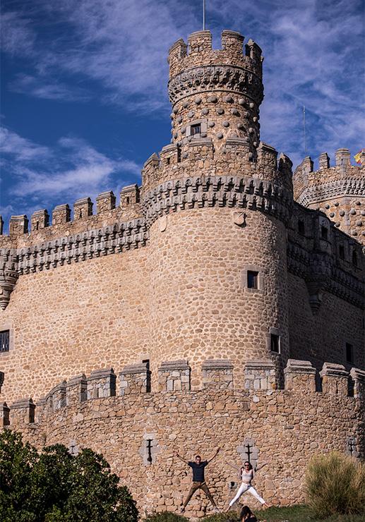 Manzanares el Real, castillo bien conservado