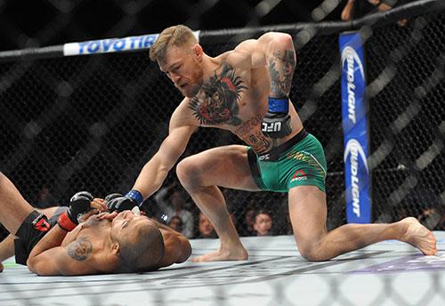 McGregor, un experto del KO