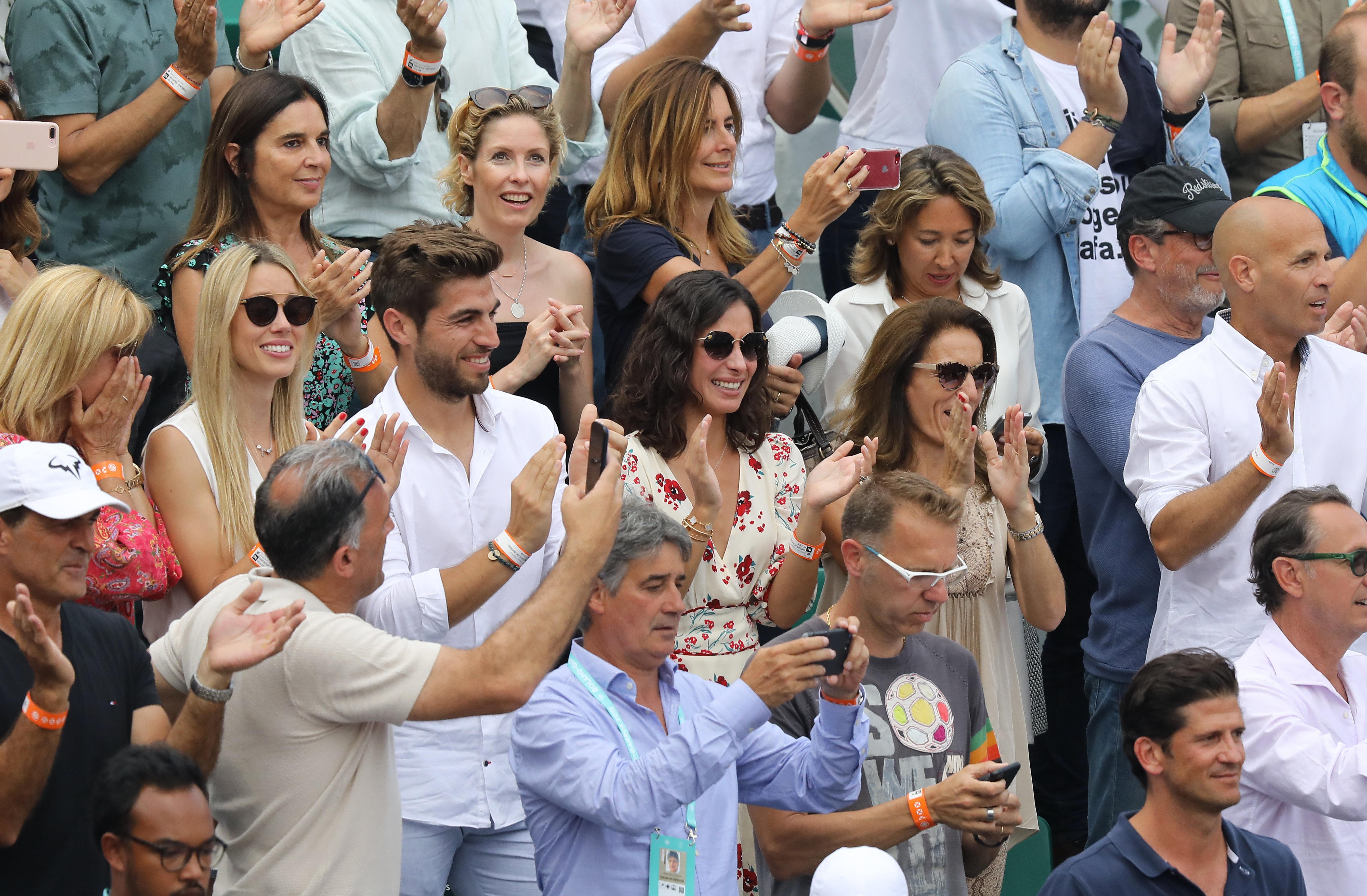 Grada de los amigos y familiares de Rafa Nadal. (Gtres)