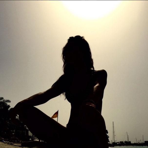 Lara Álvarez en Dubái (Instagram)