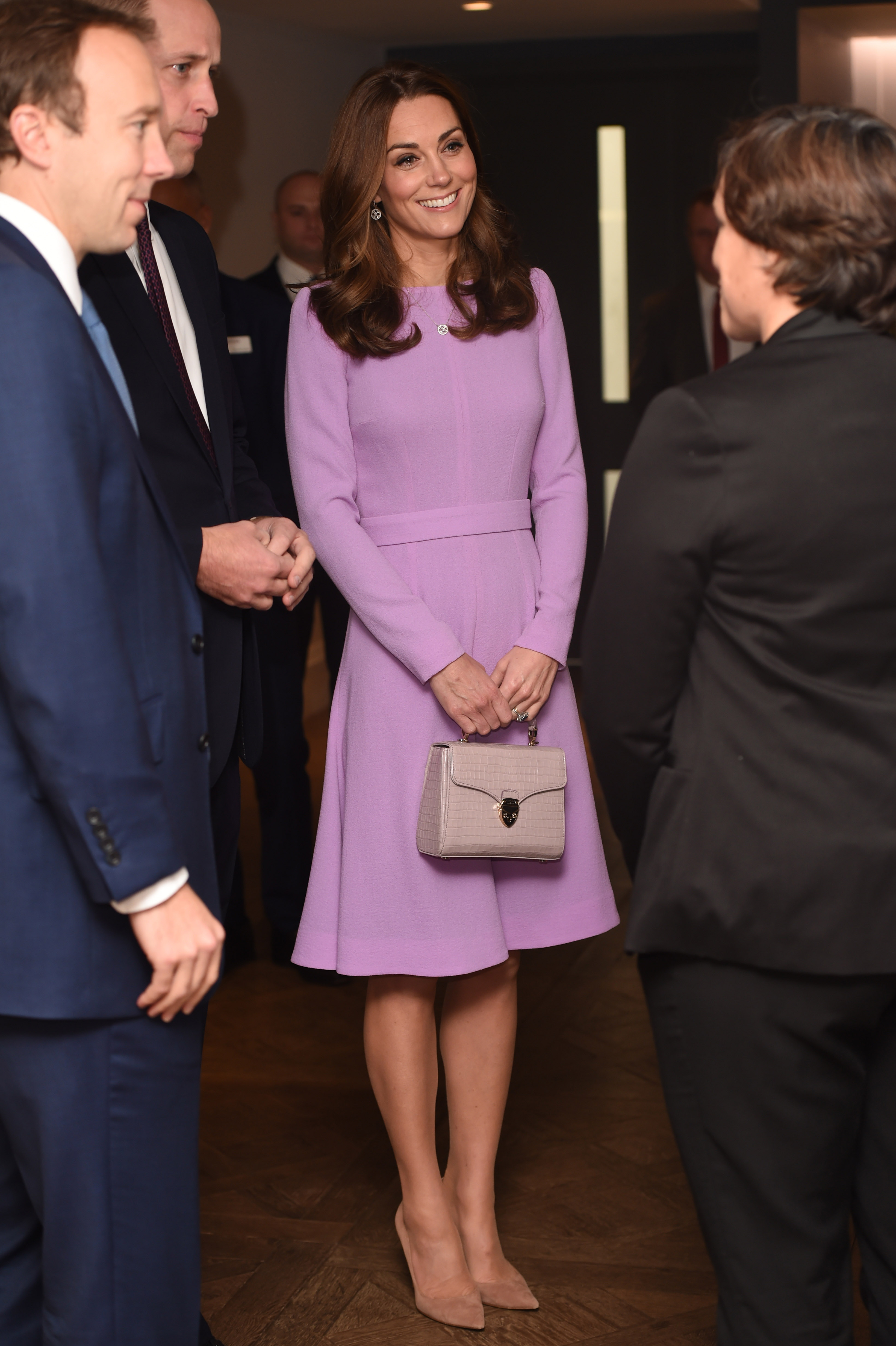 El estilismo de la duquesa. (Getty Images)